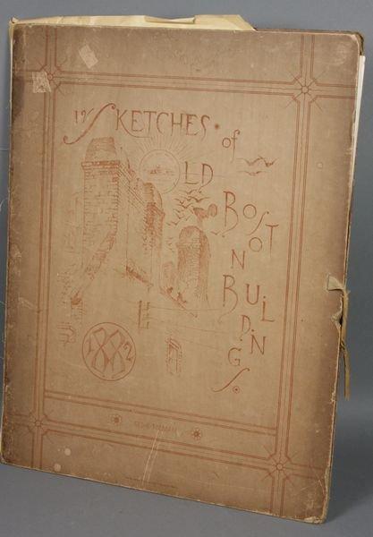 4005: Heliotype Prints, Boston Bldgs, 1882, G. Tolman