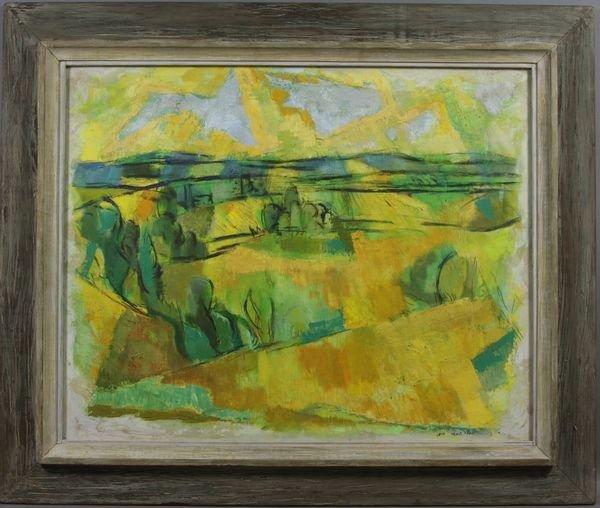 4007: Signed Leo Murphy, Landscape, o/c
