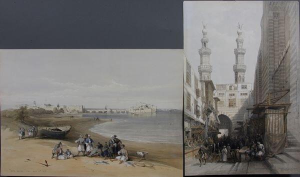 4020: David Roberts, Larda, Metwaleys at Cairo,Prints