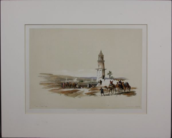 4022: David Roberts, Prints of Upper Egypt