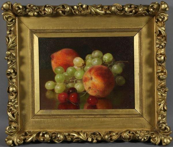 4181: Robert Spear Dunning, Still Life of Fruit, o/c