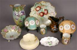 339: MISC. CHINA PIECES, SHELLEY, DRESDEN, NIPPON