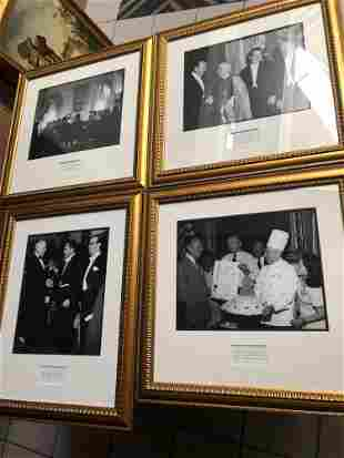 Lot of 4 photos of political figures, including Richard