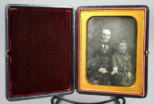 5215: Daguerreotype, Father & Son by Martin Lawrence