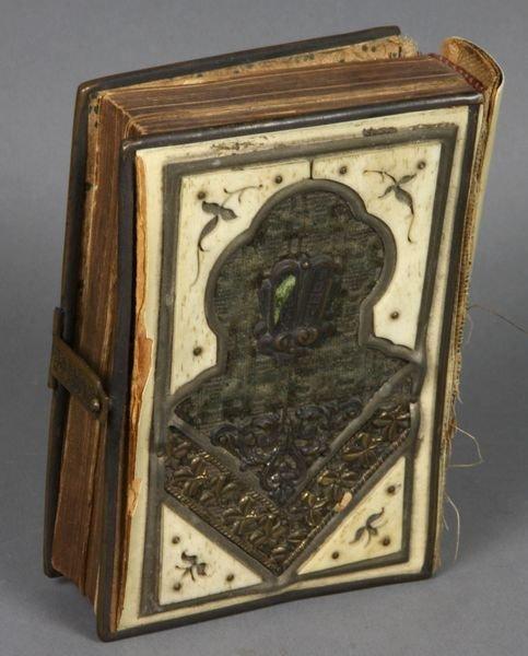 5298: Daily Prayer Book, German & Polish Jews, 1857