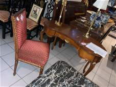 French Style Kidney Shaped Writing Desk