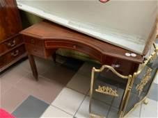 Regency Style Mahogany Kneehole Desk