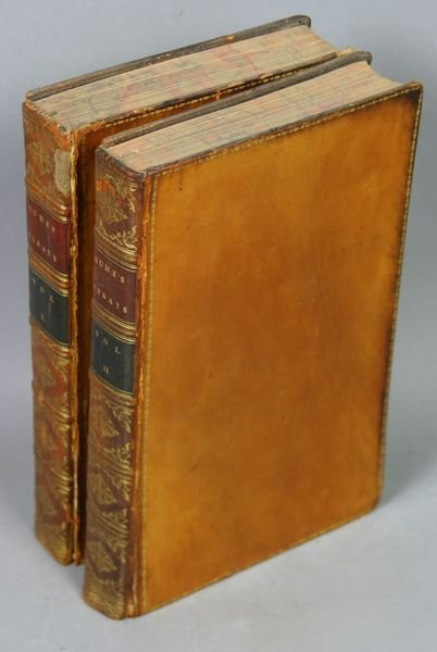 1002: Essays and Treatises by David Hume, 1817