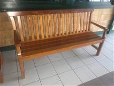 Weatherend Teakwood Bench