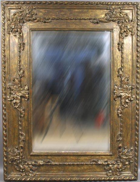 2021: Beveled Glass Mirror in Ornate Gilt Frame