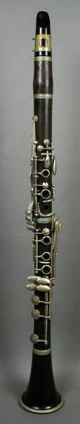 2394: Dolnet Paris Model DLP Wood Clarinet in Case - 2