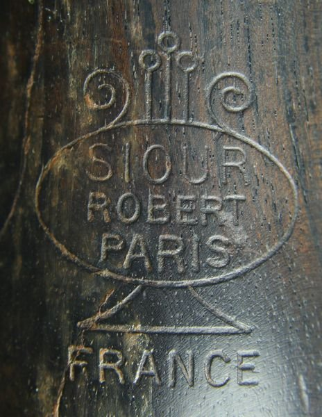 2394: Dolnet Paris Model DLP Wood Clarinet in Case - 4