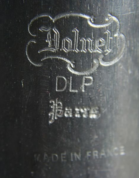 2394: Dolnet Paris Model DLP Wood Clarinet in Case - 5