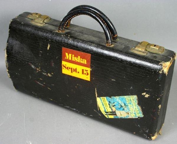 2394: Dolnet Paris Model DLP Wood Clarinet in Case - 6