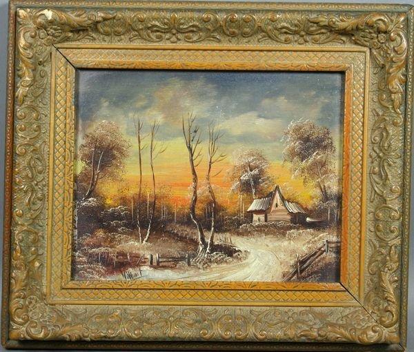 3011: British School, Landscape, o/b