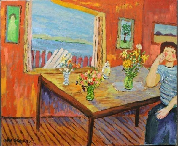 3024: Max Swartz, By the Window, o/c