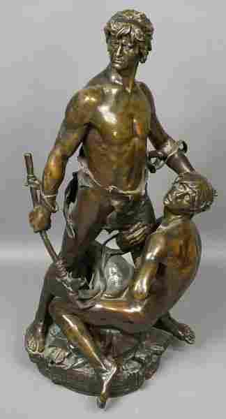 Eugene Marioton, Magnificent Bronze Sculpture