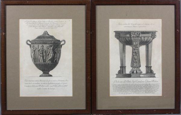 5001: Two (2) Giovanni Battista Piranesi Engravings