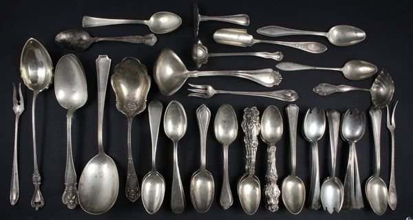 5003: Assorted American Sterling Silver Flatware