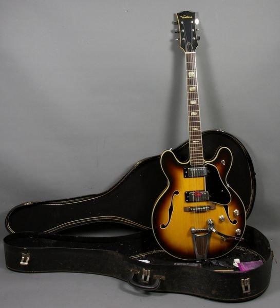 12: 1970 Ventura Hollow Body Electric Guitar