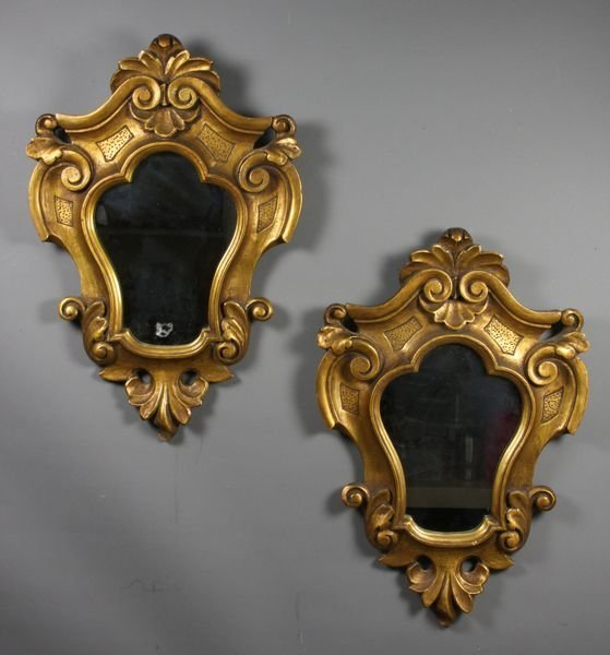 16: Pair of Early 20th C. Irving & Casson Mirrors