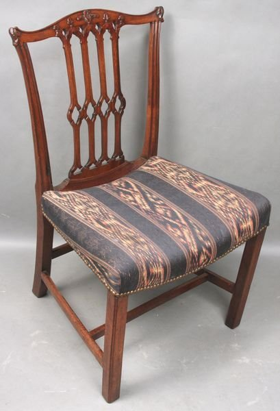 24: 18th Century Chippendale Mahogany Chair