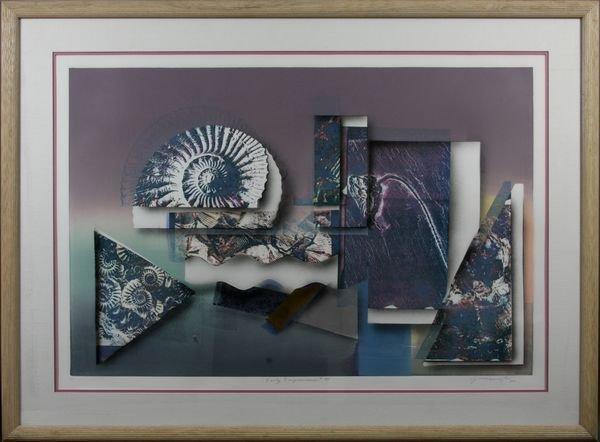 128A: Greg Gronowski, Early Impressions, Mono Print
