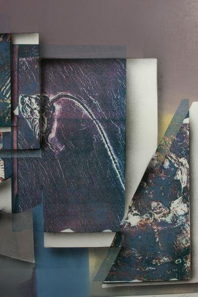 128A: Greg Gronowski, Early Impressions, Mono Print - 2
