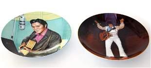 Two Elvis Plates