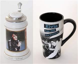 Elvis Stein and Mug