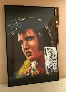 Steve Connolly Oil Portrait of Elvis
