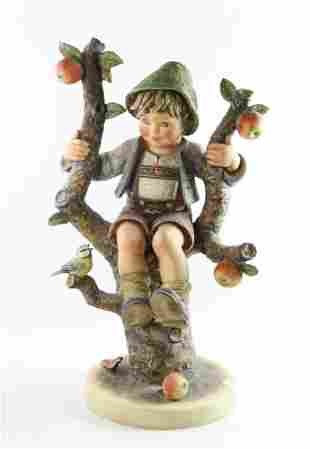 Rare Jumbo Hummel Apple Tree Boy