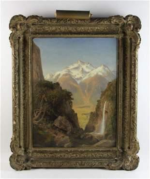 Henry A Ferguson, Landscape, Oil on Canvas