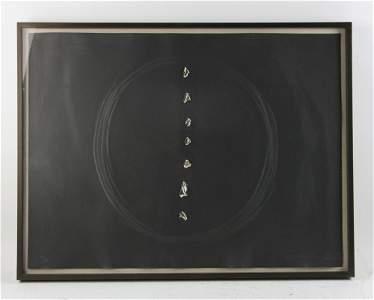 Lucio Fontana, Concetto Spaziale, Aquatint Etching