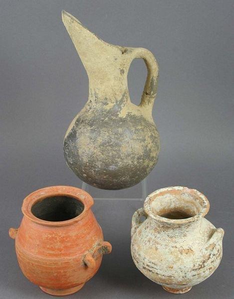 3004: (3) Pcs, Hellenistic, Pre-Hellenic, Western Asiat