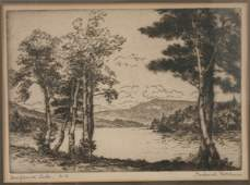 278 FREDERICK ROBBINS ETCHINGS NEW HAMPSHIRE