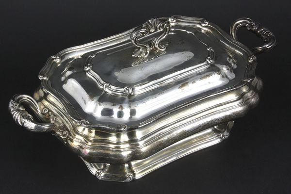 4185: Gorham & Co. Sterling Silver Covered Tureen