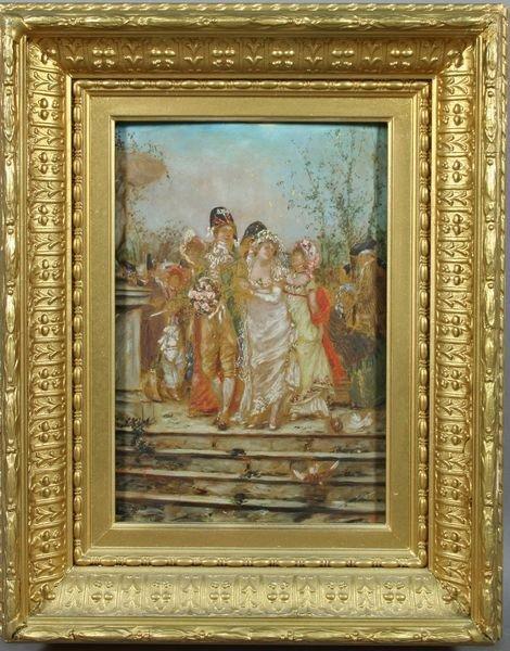 5117: After Frederick Kaemmerer, Wedding Party, Print