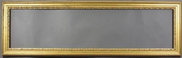 """5001: Late 20th C. gilt frame, 52 1/2"""" x 16 1/4"""""""