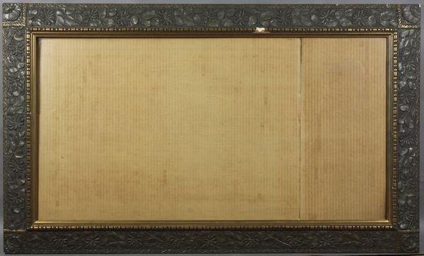 """5003: Art Nouveau frame, outside:  50"""" x 30"""""""
