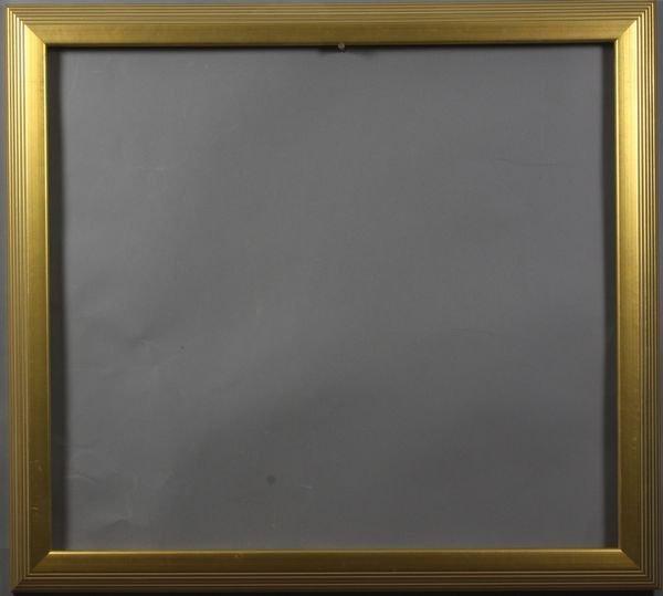"5006: Late 20th C. gilt frame, outside: 29"" x 26 1/4"""