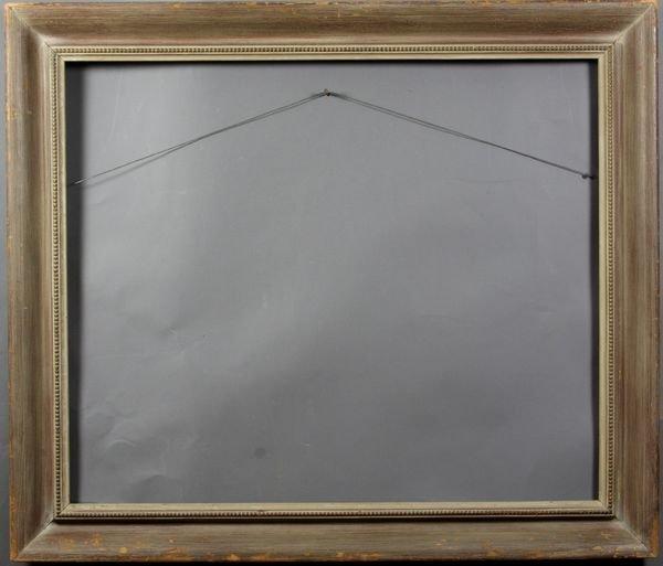 "5007: Wood frame, outside: 36"" x 30 3/4"""