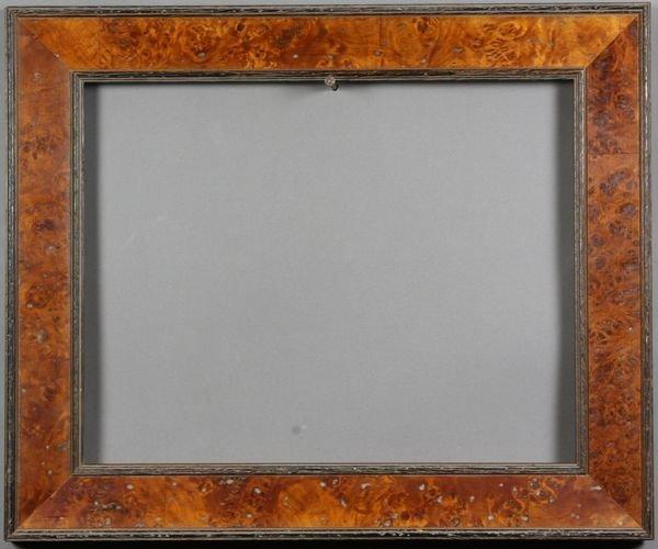 """5008: Birdseye maple frame, 17 5/8"""" x 14 5/8"""""""