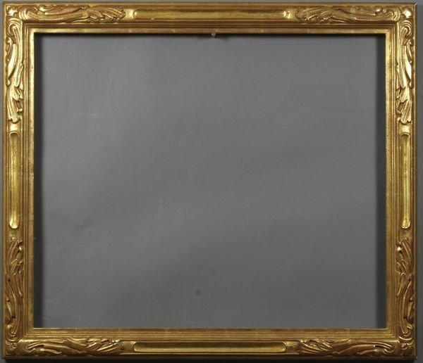 """5009: Gilt frame, outside: 24 1/4"""" x 28 1/4"""""""