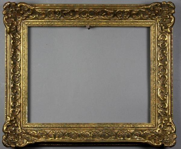 """5010: Gilt frame, outside: 13 3/4"""" x 16 1/4"""""""