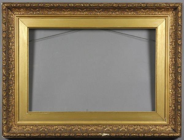 """5011: Gilt frame, outside: 18 1/4"""" x 21 1/4"""""""