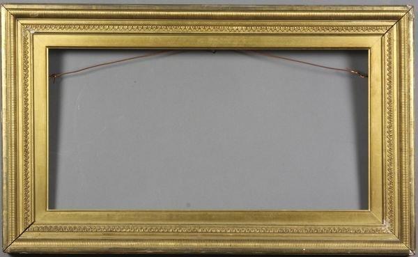 """5012: Gilt frame, outside: 12 3/4"""" x 21 1/4"""""""