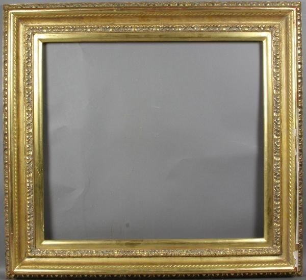 """5014: Gilt frame, outside: 24 1/2"""" x 26 1/2"""""""