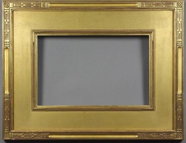 """5016: Gilt frame, outside: 17 1/4"""" x 22 1/2"""""""