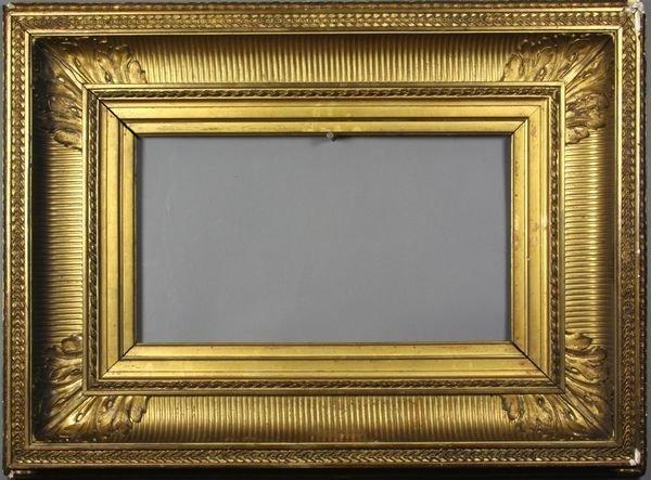 """5017: 19th C. gilt frame, outside: 20 1/4"""" x 27 1/2"""""""